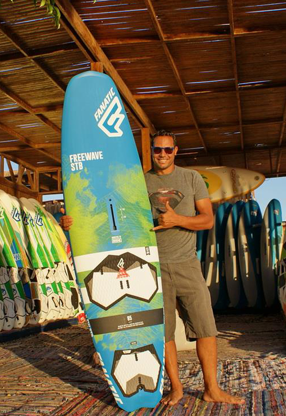 2018 Fanatic Windsurfing Boards In The Club